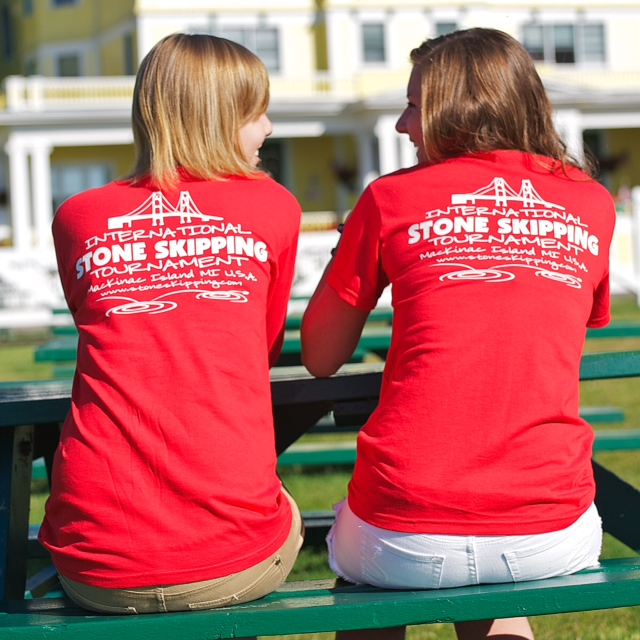 46th Annual Stone skipping contest only 1 month from today