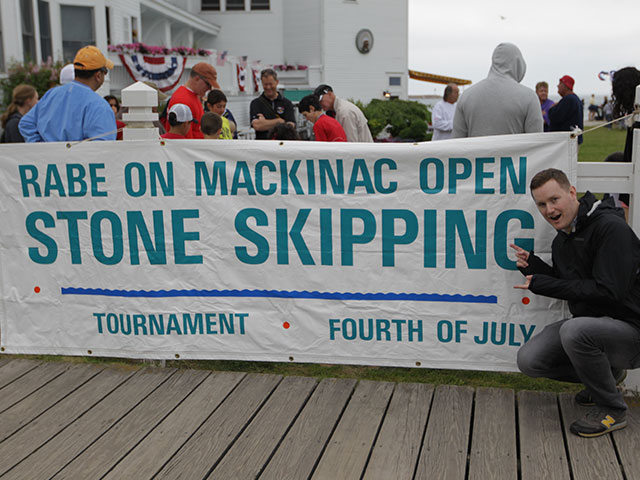 1969 : Mackinac Island Stone Skipping Contest Begins